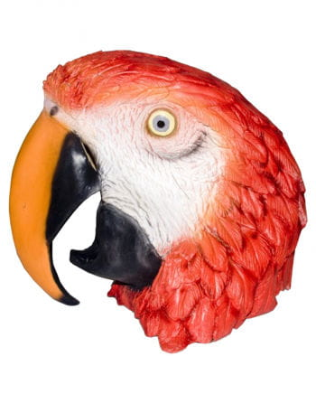 Parrot latex mask