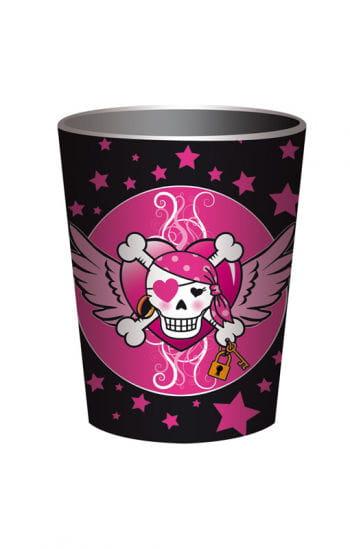Pirate Girl Paper Cups