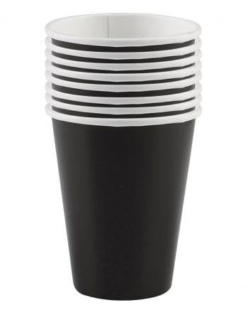 Paper Cups Black