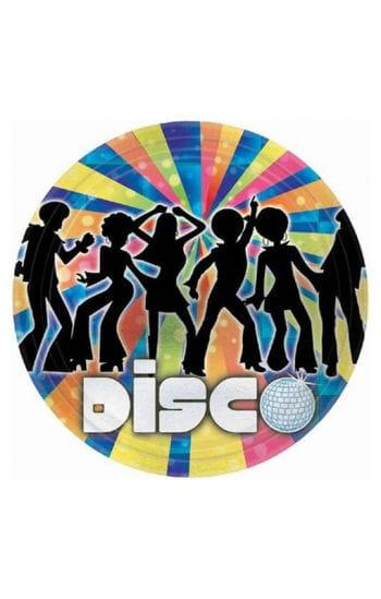Paper plates Disco Dancer
