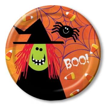 Paper Plates Spooky Friends