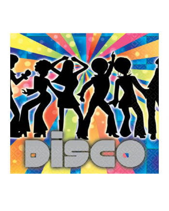 Party Servietten Disco Dancer 16 St.