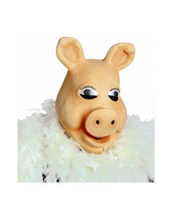 Piggy Schweinedamen Maske