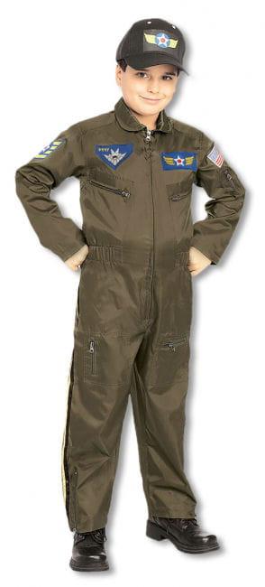 Pilot Kinderkostüm M M