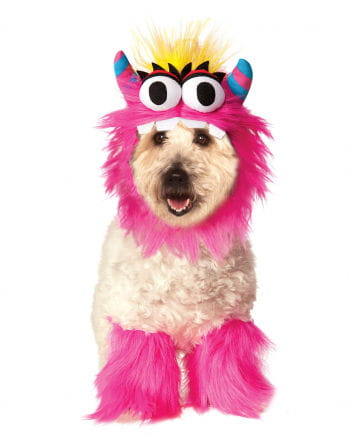 Pink Monster Hundekostüm