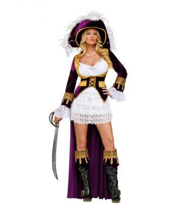 Caribbean Queen Deluxe Costume