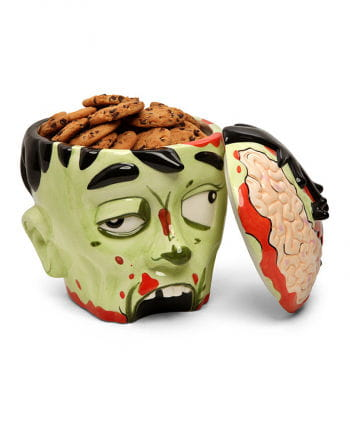Plätzchendose Zombie-Kopf