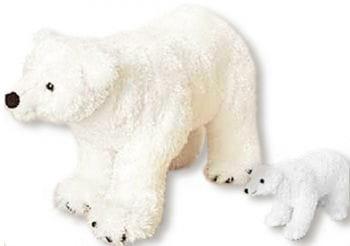 Plush Polar Bear Big