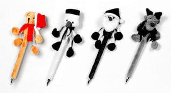Plüsch Kugelschreiber Weihnachtsbär