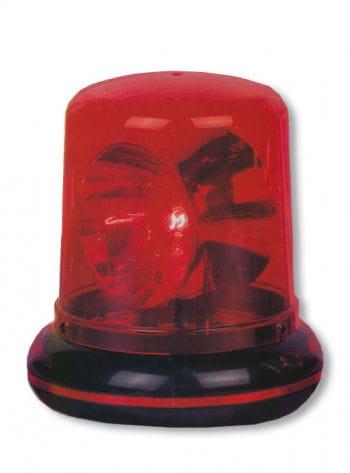 Polizeilicht rot