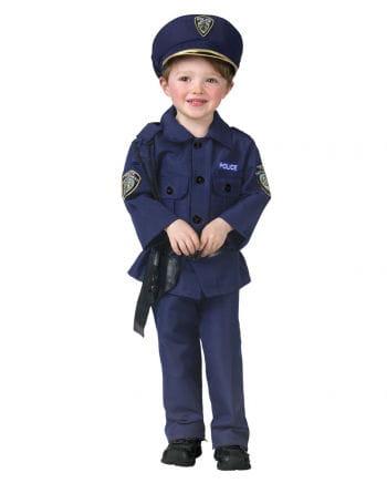 Policeman Child Costume M German size 116-128