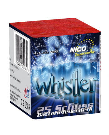 Whistler Battery Fireworks 25 shots