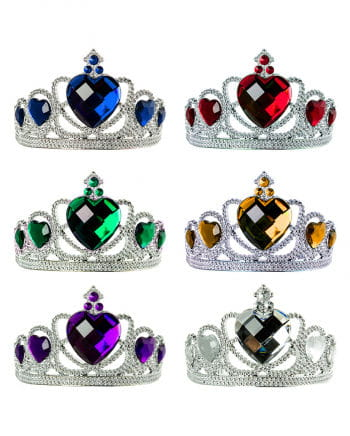 Princess Tiara with gemstones