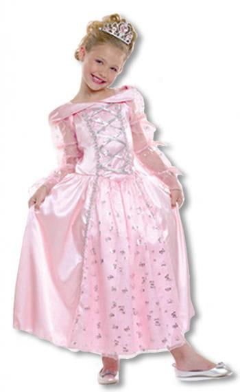 Prinzessin Kinderkostüm mit Krone