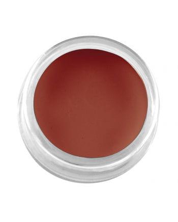 Professionelles Creme Make-Up Dunkelrot