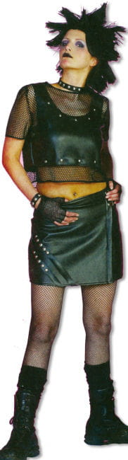 Punk costume Women XL / 42