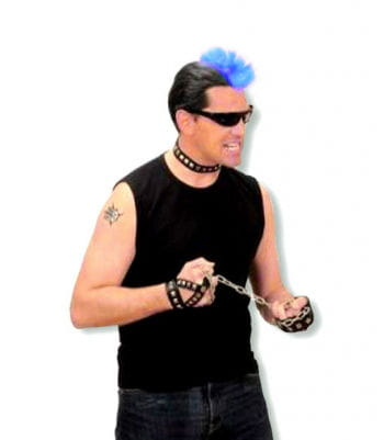 Punk Hairpiece Blue