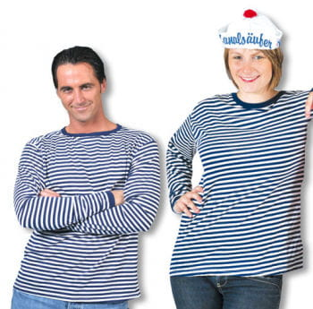 Striped Jumper Blue White