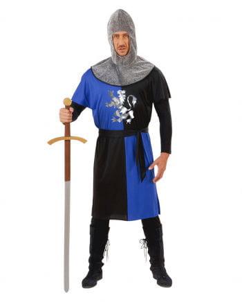 Knight costume blue / black Gr. L