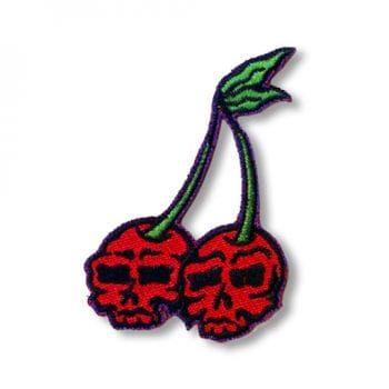 Rockabilly Cherries Patch