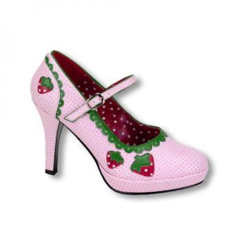 Rosa Erdbeer Schuhe 37 UK 6 US 8