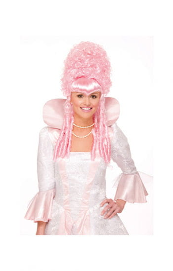 Pink Baroque Wig