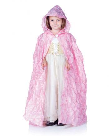 Rosa Kapuzen Umhang für Kinder
