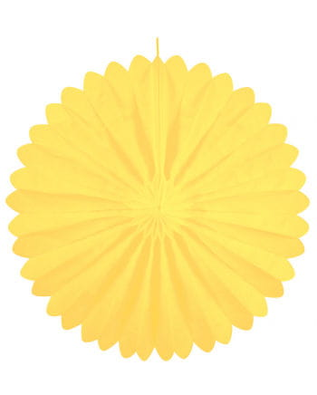 Rosette compartments yellow 60 cm