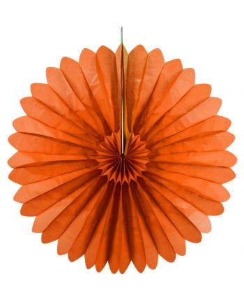 Rosette compartments orange 60 cm