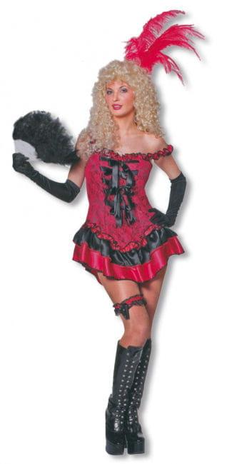 Rote Lady Kostüm