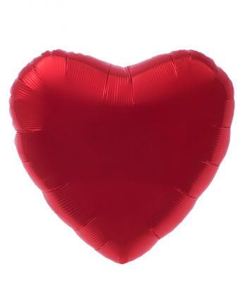Roter Herz Folienballon