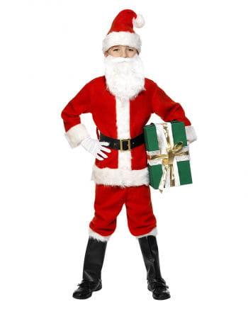 Nikolaus Santa Claus Kinderkostüm L