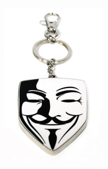 Key Chain Vendetta Mask