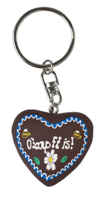 Keychains gingerbread heart