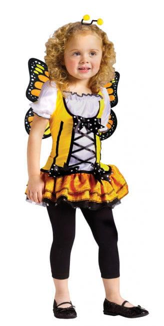 Schmetterlings Prinzessin Gelb