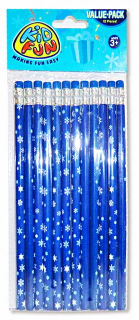 Snowflake Pencils 12 PCS