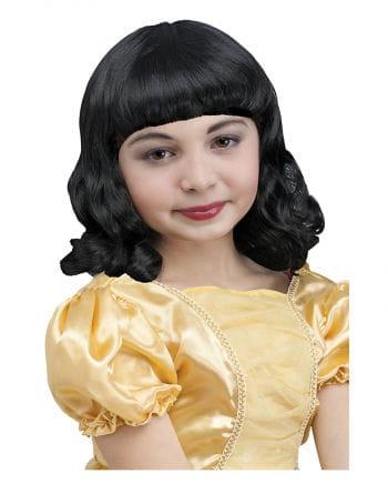Snow White Child Wig Black