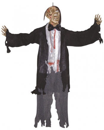 Screaming Zombie Hanging Prop