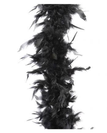 Federboa ca. 185 cm schwarz
