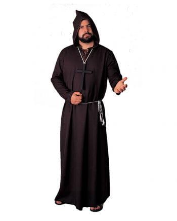 Black monk`s robe Deluxe