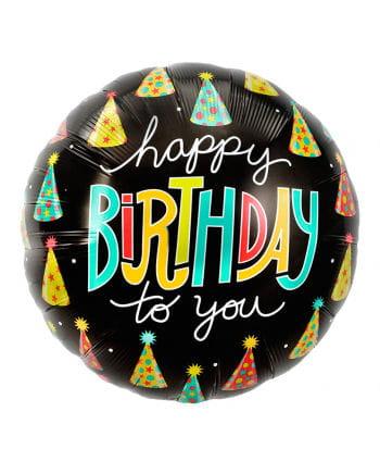 Foil balloon Happy Birthday Party Hats
