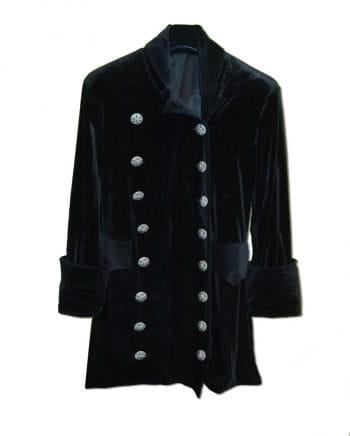 3/4 black velvet coat size XL