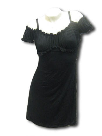 Black Gothic Summer Minidress XL