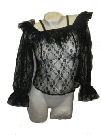 Black Lace Top Large