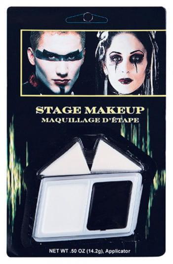 Schwarz/Weiß Make up
