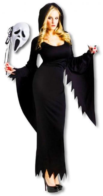Scream Kostüm lang für Frauen M/L 38-40 M/L 38-40