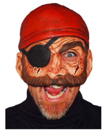 Pirate Half Mask Evil Bill