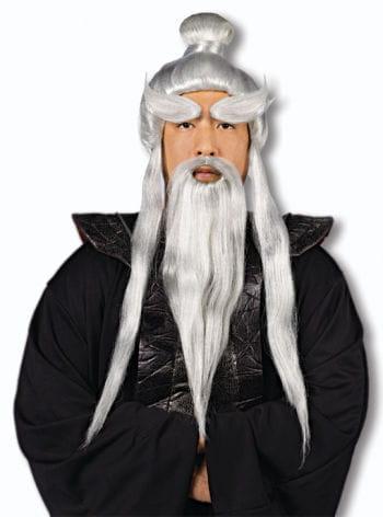 Sensei Wig and Beard