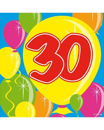 Napkins balloon 30