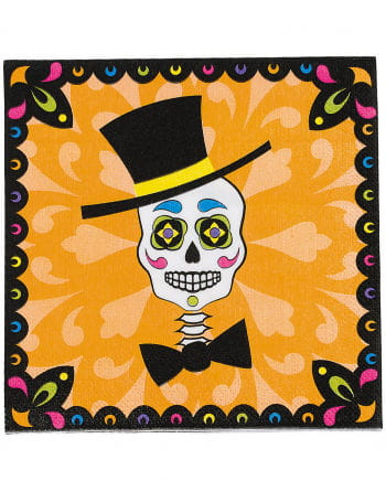 Napkins Day of the Dead 16 St.